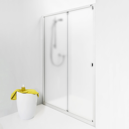 1550 mm frostat glas IDO Showerama 8-1 1550 mm, Frostat glas