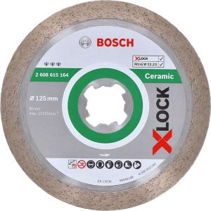 Bosch Best for Ceramic Diamantkapskiva med X-LOCK 125 × 22,23 × 1,8 × 10 mm